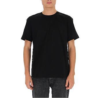 Les Hommes Ljt150703b9000 Men's Zwart Katoen T-shirt