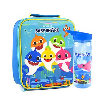 Baby Shark Lunch Bag och flaska set Pingfong