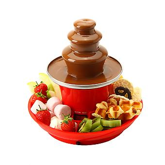 Global Gourmet by Sensio Home Chocolate Fountain Fondue Set With Party Serving Tray Included
