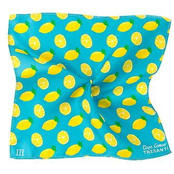 Ties Planet Tresanti Lemons Silk Pocket Square Handkerchief