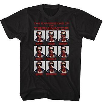 Terminator Expressions T-paita