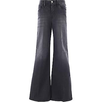 Frame Lpp208mardel Women's Grey Cotton Jeans