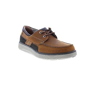 Clarks Un Abode Step  Mens Brown Loafers & Slip Ons Boat Shoes