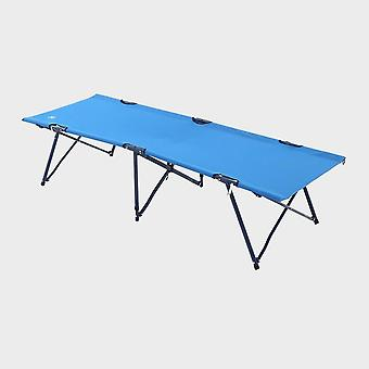 New Hi-Gear Folding Camp Bed Royal Blue