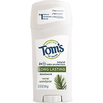 Tom's of Maine Natural Long Lasting Deodorant Maine Woodspice