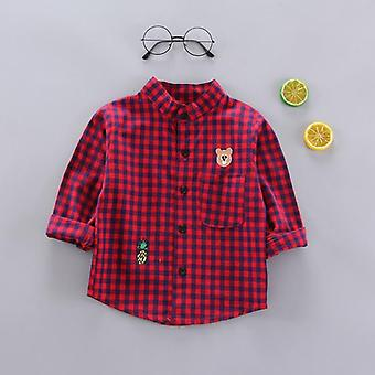 Boys Shirt Clothes, Baby Spring Thin Infant Long Sleeve Tees Tops Cotton