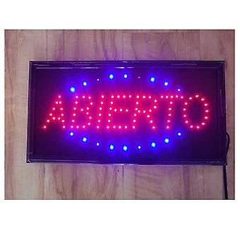 "Animated Led Neon Sign ""open"" Attractive Customer Sign Shop Store Sign"