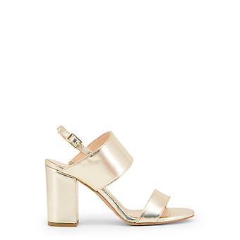 Feito em italia favola nappa women's sandálias de couro