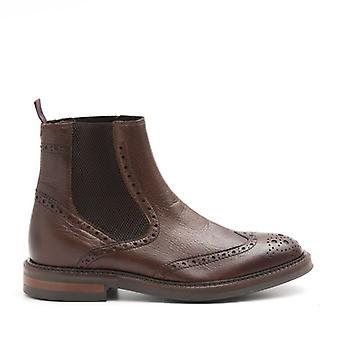 Beatles Tronchetto Marco Ferretti In Brown Leather