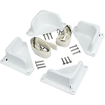 IGLOO Universal Tie Down Kit - White