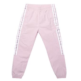 Girl's adidas Originals Junior New Icon Track Pants in Pink