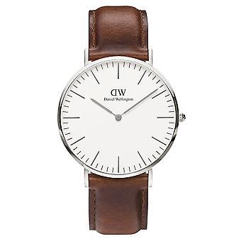 Daniel Wellington DW00100021 St Mawes Brown Strap Wristwatch