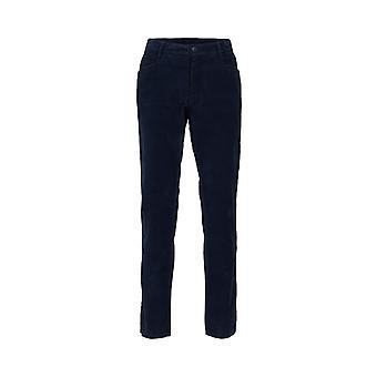 Burran Cord Trousers Navy