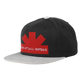 Red Hot Chili Peppers Baseball Cap Asterisk Band Logo new Official Snapback