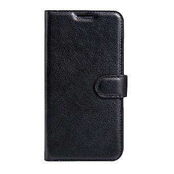 Für Xiaomi Redmi 3 Pro Litchi Textur Horizontal Flip Ledertasche mit magnetischen Schnalle & Halter & Kartensteckplätze & Brieftasche(Schwarz)