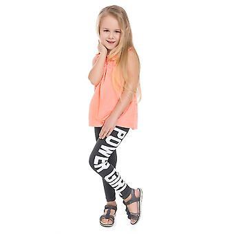 Cotton Power Girl Print Full Length Pants Chpwg