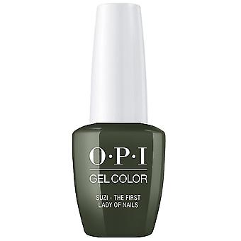 OPI GelColor Gel Color - Soak Off Gel Polonais - Suzi The First Lady Of Nails 15ml (GC W55)