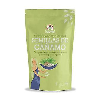 Organic Unshelled Hemp Seeds 250 g
