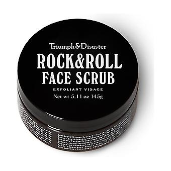 Rock & Roll Face Scrub with Volcanic Ash and Green Clay 145 g