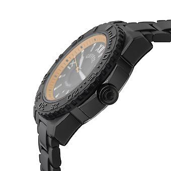 Gevril 3112B Meripilvi Musta IP-kotelo Musta Dial Watch