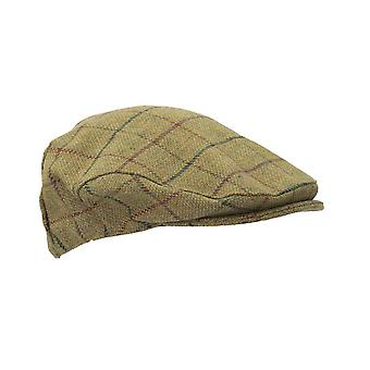 Walker and Hawkes - Uni -Sex Derby Tweed Flat Cap
