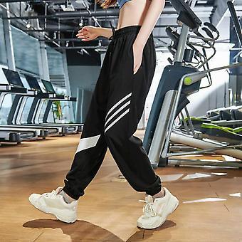 Kvinnor Utomhus Sportkläder Lös träning Byxor