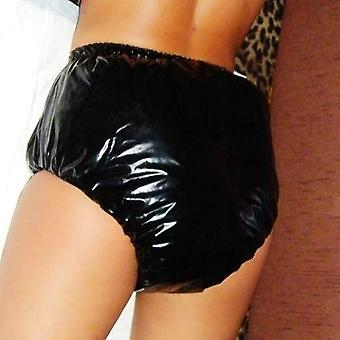 Black L Non-disposable Adult Diapers, Pvc Shorts For Adults