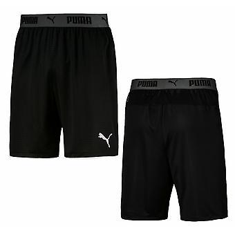 פומה ftblNXT גברים אימון מכנסיים קצרים ריצה חדר כושר גרפיקה שחור 655791 01 RW70