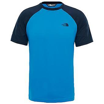 North Face Mens Tanken Raglan Tee Blå T-Shirt NF0A3BQ7NX0