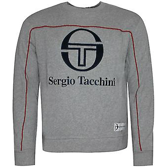 Sergio Tacchini Ground Crewneck Mens Pullover Sweatshirt Jumper 37866 915