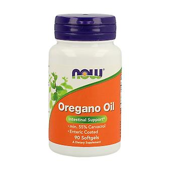 Enteric Oregano Pearls 90 softgels