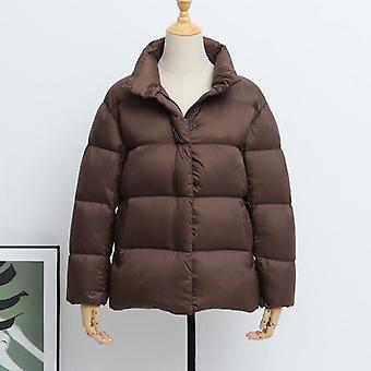 Winter Down Jacket, Women Puffer Jacket, Light Slim Warm Down Coats, Female