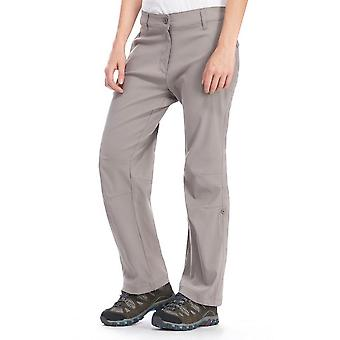 New Peter Storm Women's Stretch Roll Up Trousers Small Grey