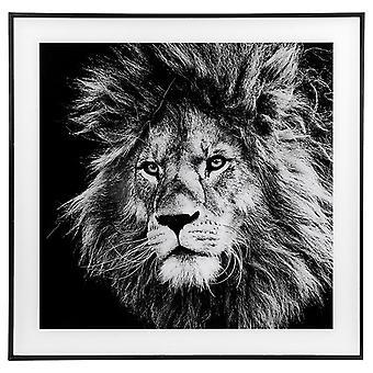 Decor Picture Square Large Lion