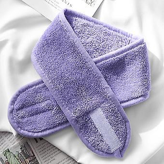 Bandas de maquillaje ajustables para el cabello, lavar la cara de las diademas suaves