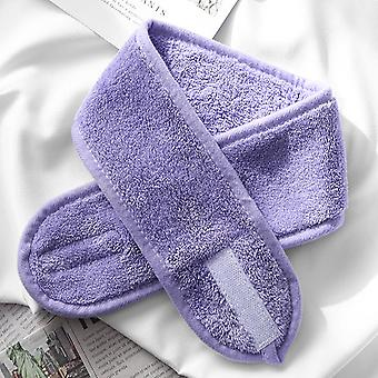 Adjustable Makeup Hair Bands, Wash Face Soft Toweling Headbands