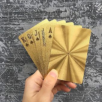 الأسود الذهبي لعب بطاقات لعبة جمع