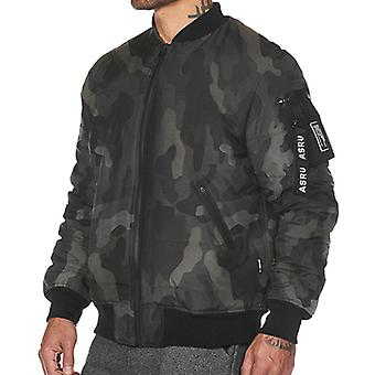 Men's Stand Guler Fashion Hooded Jacket M63