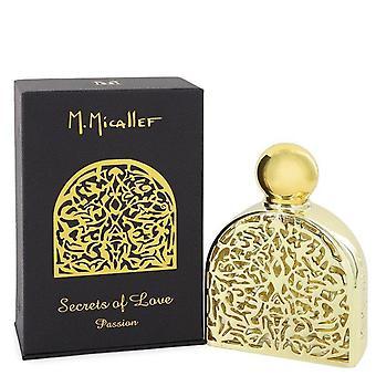 Secrets Of Love Passion Eau De Parfum Spray By M. Micallef 2.5 oz Eau De Parfum Spray