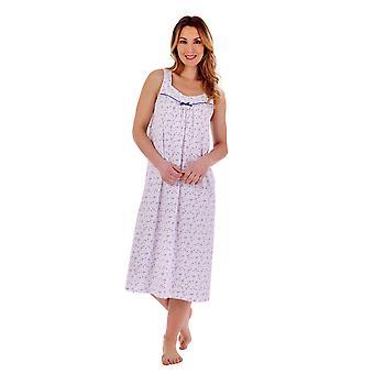 Slenderella ND77104 Women's Floral Cotton Nightdress