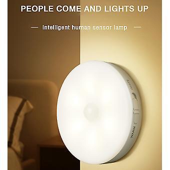 Bedroom Decor Night Lights Motion Sensor Night Lamp Children's Gift USB Charging Bedroom Decoration Led Night Light
