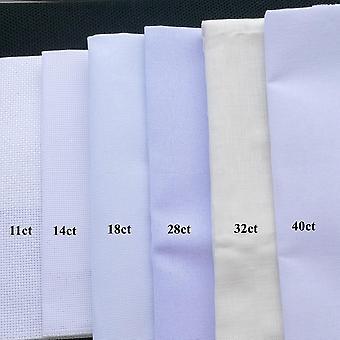 Aida Cloth Cross Stitch Kangas, Canvas Diy Käsityö, Ompelu kirjonta