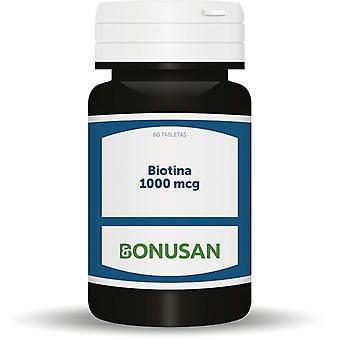 Bonusan Biotine 1000Mcg. 60 comprimés