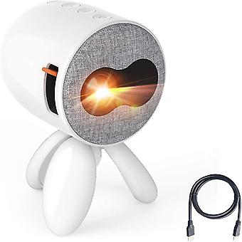 Mini-Projektor Octopus Mirroring Tragbarer Filmprojektor, LED-Video-Taschenprojektor kompatibel mit HDMI