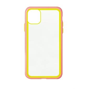 Phone Case (Pink) Clear ShockProof Soft TPU Silicone For iPhone X MAX