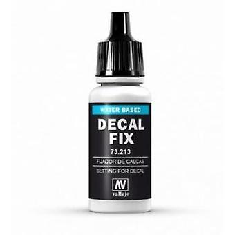 Vallejo Decal Fix - bouteille de 17ml dropper