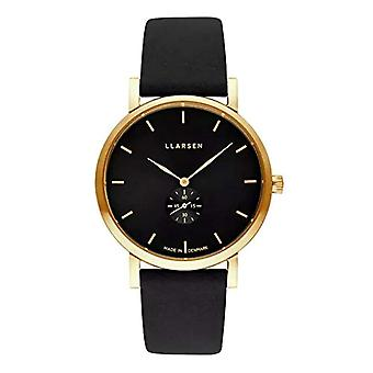 LLARSEN Analogueic Watch Quartz Woman with Leather Strap 144GBG3-GCOAL18
