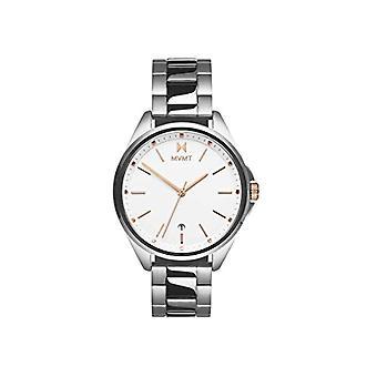 MVMT analoge horloge quartz vrouw met roestvrij staal band 28000001-D
