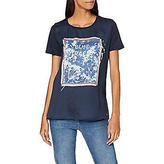 Garcia H90206 T-Shirt, Blue (Dark Moon 292), S Donna