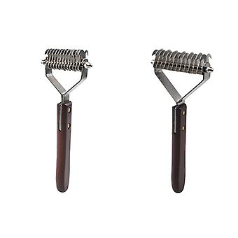 Pet comb for cats and dogs removes knots massage hairdressing tools ps08